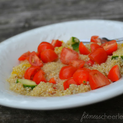 Easy Peasy Greek Quinoa Salad