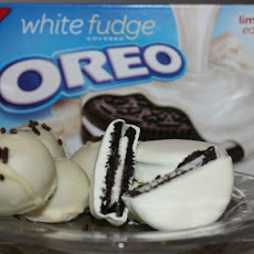 White Fudge OREO Cookie Balls