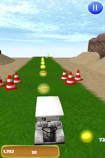 Golf Cart Racer: Caddie Race - screenshot