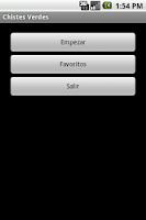 Screenshot of Chistes Verdes