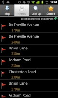 Screenshot of miniBus - Live bus data
