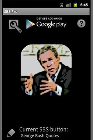 SBS add-on: George Bush