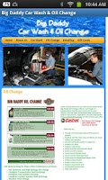 Screenshot of Big Daddy Car Wash & Oil Chang