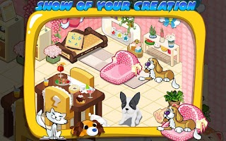 Screenshot of Pet House Design