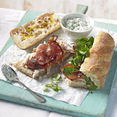 Chicken, Bacon & Watercress Baguettes