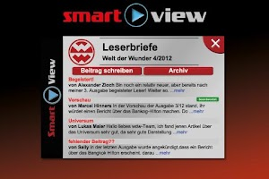 Screenshot of Welt der Wunder Smart View