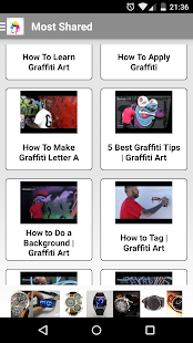 How to Draw Graffiti Tutorials - screenshot