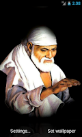 Screenshot of Shirdi Sai Baba Ji 3D Walpaper