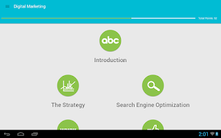 Screenshot of Learn Digital Marketing