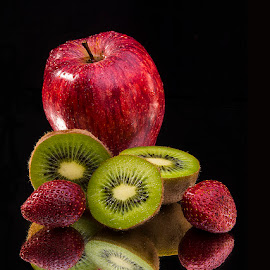 Composition with colors and shapes by Rakesh Syal - Food & Drink Fruits & Vegetables