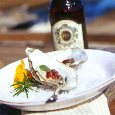 Cocktail Oysters with Oysterville's Finest Cocktail Sauce
