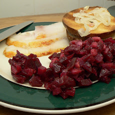 Swedish Pickled Beet and Apple Salad