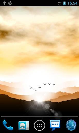 【免費個人化App】日出曙光專業版動態桌布 Sunrise-APP點子
