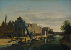 RIJKS: Gerrit Adriaensz. Berckheyde: painting 1698