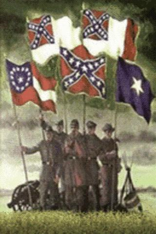 confederate-flags-lwp for android screenshot