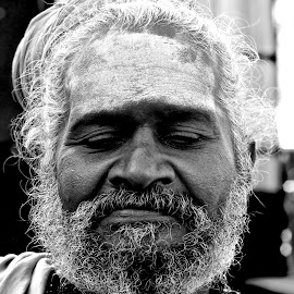 Chennai man by Chris Bannocks - People Portraits of Men