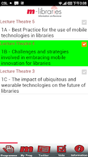 m-libraries Conference - screenshot