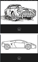 Screenshot of How to draw Cars