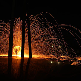 S s light by Danijel Rakić - Abstract Light Painting ( abstract, dark, night, light, photography )