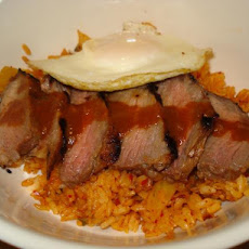 Korean Steak and Eggs