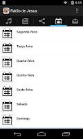 Screenshot of Rádio de Jesus