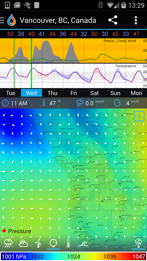 WeatherBomb Screenshot 5