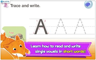 Screenshot of Phonics Town