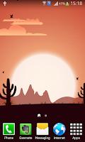 Screenshot of Sunrise Live Wallpaper