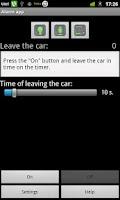 Screenshot of Car security assistant