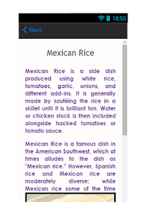 Mexican Rice Recipe Tips - screenshot