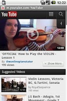 Screenshot of Violin Lesson Tutor