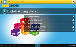 Screenshot of LearnNext
