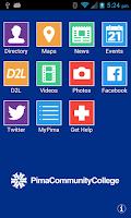 Screenshot of Pima Community College