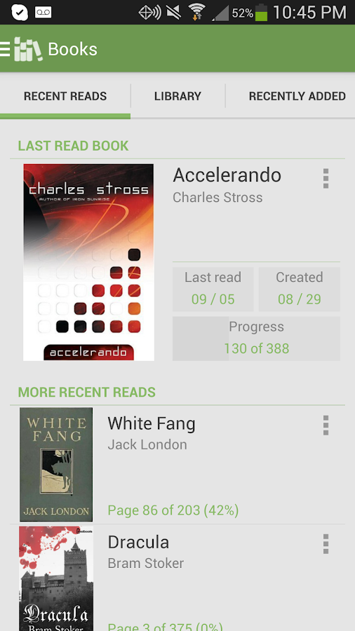 Aldiko Book Reader Premium Screenshot 0
