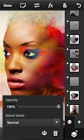 Screenshot of Photoshop Touch for phone