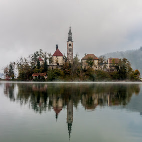 Bled by Sabina Kos - Landscapes Waterscapes ( , relax, tranquil, relaxing, tranquility )