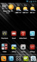 Screenshot of iDroid HD Apex Theme