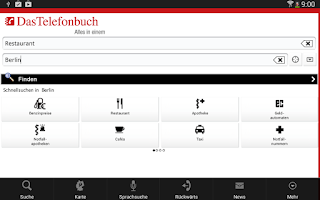 Screenshot of Das Telefonbuch – lokale Info