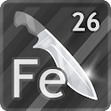 Knife Steel Composition Chart icon