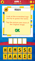 Screenshot of 1 Logo Quiz: Tap and Guess!