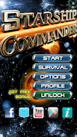 Screenshot of Starship Commander - Space War
