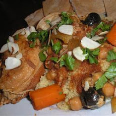 Slow Cooker Moroccan Chicken Tagine