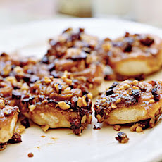 Fig-Walnut Sticky Buns