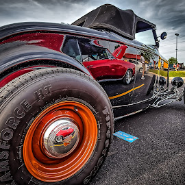 T Town Rod by Ron Meyers - Transportation Automobiles