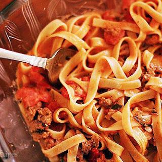 Fettuccine Pasta Tomato Sauce Recipes