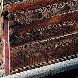 Deerwood Ranch 2013 by Michael Land - Novices Only Objects & Still Life ( loading chute, equine, western, close up, wood grain )