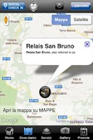 Screenshot of Relais San Bruno