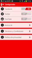 Screenshot of Coca-Cola FM Chile