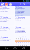 Screenshot of To-Do Calendar Planner+