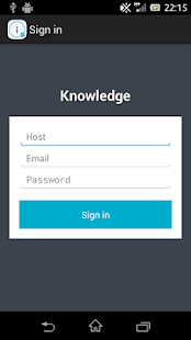 Knowledge - screenshot